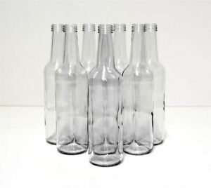 GLASS bottles 500ml - 50cl - home brewing + screw cap + FAST DELIVERY