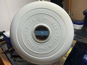 Wham-o Frisbee Pro Professional raised letter Chrysler Plymouth Mopar mold 10