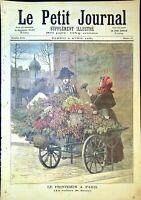 Le Petit Journal N°19- 4/04/1891 - La voiture à fleurs, la mort de Pichegru