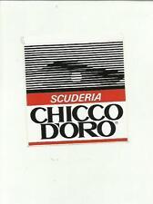 ADESIVO VINTAGE STICKER  SCUDERIA CHICCO D' ORO