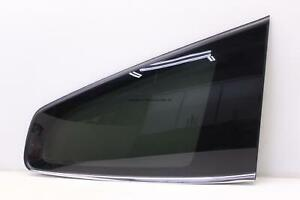 CHEVY TRAVERSE LT 15-17 REAR PASSENGER QUARTER GLASS WINDOW W/O TINT OPT ANJ OEM