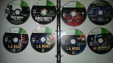 8 Xbox 360 Games Package!! Including some top sellers! Call of Duty Games & More