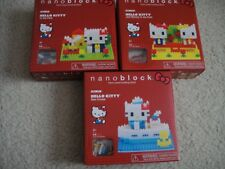 NW Nanoblock Hello Kitty & Mimmy in the Park Sea Cruise NBH 055 056 057 Building