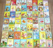 HUGE Vintage Children's Little Golden Book Lot 56 Classics Disney Pooh Bugs Cats