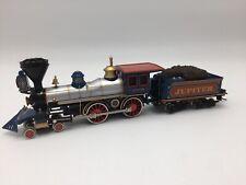 Vintage Bachmann HO Central Pacific 60 Jupiter 4-4-0 locomotive and tender