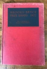 Brooks Bryce Anglo-American Prize Essays 1927 James Agee First Book