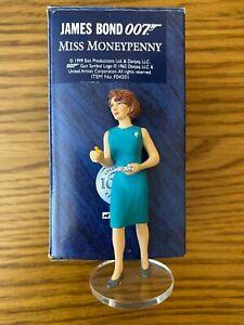 James Bond 007 Corgi Icon Action Figure Moneypenny  Lois Maxwell F04201 Boxed
