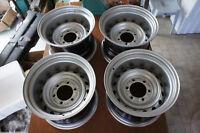 """Custom Steelies 15"""" wheels steel pcd139.7x6 land cruiser 4runner hilux bj40 bj60"""