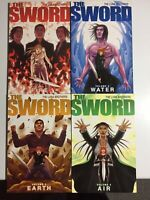 Image Comics~ The Sword ~Full Set TPB~#1-4~The Luna Bros.~2010~1st Print~ VF/NM