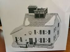 Dept 56 New England Village Jeremiah Brewster House Orig. Box No Light