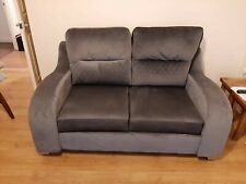 2 seater sofa grey fabric, great condition, 10 months old, hardly used