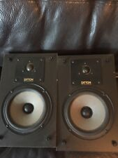 Vintage Celestion Ditton 100 2 Way Speakers Made In England