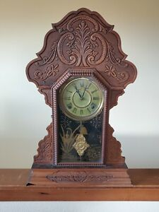 Antique E. N. Welch Chiming Clock