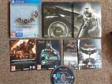 Batman Arkham Knight Edición Especial PS4 Inc waynetech Boosterpack/Espantapájaros acústico Dlc