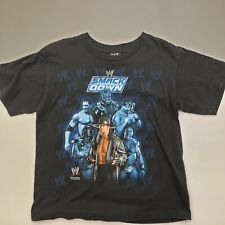 2007 WWE Smackdown Black T-Shirt Youth Small