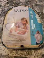 Lulyboo to-Go Baby Lounge - On The Go Baby Lounger Backpack - Combines Crib,.