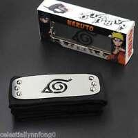 Anime Naruto Kakashi Sasuke Hidden Leaf Village Headband Konoha Cosplay Armband