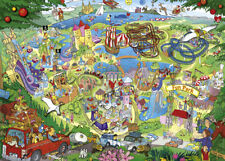 NEW! Heye Fun Park Trip by Lyon 1000 piece comic cartoon jigsaw puzzle 29837