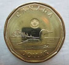 CANADA 2012 NEW SECURITY FEATURE LOONIE BRILLIANT UNCIRCULATED DOLLAR