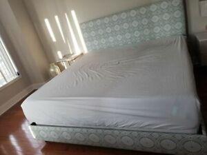 THE INSIDE Custom Upholstered King Bed