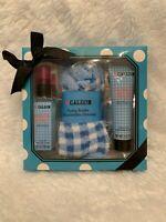 Calgon Fresh Start Crisp Apple And Lily 3 Piece Gift Set Body Mist Lotion Socks