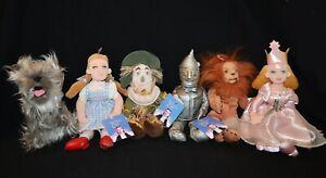 The Wizard Of Oz Warner Bros Studio Store Co Vintage Plush Set of Six 1998