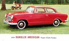 1959,Rambler American,Super Club Sedan,Advertising Postcard,American Motors