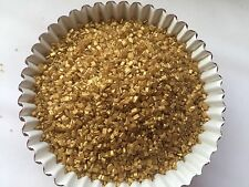 Edible Gold Sprinkles Pearlized Sugar Crystal Cake Decorations cupcake 4oz