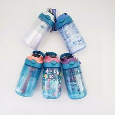 Contigo Gizmo Kids Water Bottle 14oz Spill Proof Floral Unicorn Dog U PICK