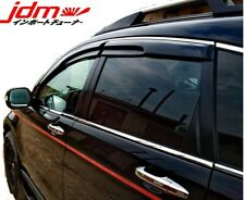 Honda CR-V Side Deflector Rain Guard Mugen Style Set 2007-2011MY