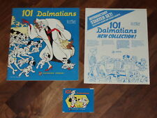 Disney's 101 Dalmatians Complete Panini Sticker Album & more!!...