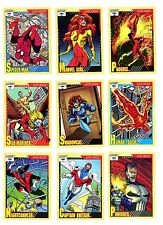 1991 Impel Marvel Universe Series # 2 Single Cards U-Pick  $1.95 each, NM/M