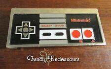 Vintage Enamel Metal NES Nintendo Game Controller Belt Buckle