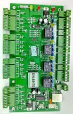 TCP/IP Network Wiegand26 Entry Attendance Access Panel Control Board For 4 Door