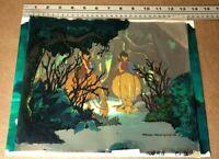 Wizards (1977) Key master setup 6 cels + production background Ralph Bakshi art