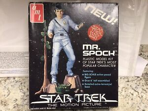 Star Trek The Motion Picture Vintage Mr. Spock Plastic Model Kit 1979 AMT