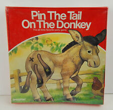 NEW PIN THE TAIL ON THE DONKEY PRESSMAN 1986 FACTORY SEALED