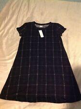 NWT Kaileigh Aubrey Hacci Shift Dress Ladies size M- black-