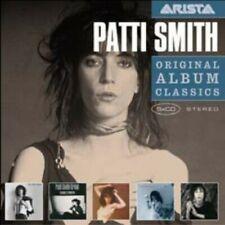 Original Album Classics by Patti Smith (CD, 5 Discs, Sony Music)