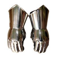 Medieval Knight Armour Gloves Warrior Gauntlets Combat Gauntlet Metal Hand Glove