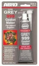 ABRO RTV SILICONE GASKET MAKER Grey 343 Deg SEALANT 85G TUBE For import engines