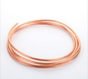 Kupferrohr weich geglüht 1m Ring Ölleitung Wasserleitung Gasleitung