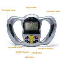 Digital LCD Body Fat Analyzer Health Care Monitor BMI Meter Tester Calculator