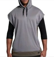 RARE---NIKE MENS DRY FIT PULLOVER HOODIE AA4659 036 MENS SIZE S,M,L MSRP 65$ NWT