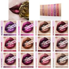 Women's Glitter Flip Metallic Matte Liquid Lipstick Shiny Lip Gloss Miss Young
