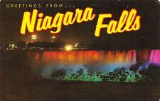 Greetings From Niagara Falls Ontario ONT 209