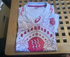 Stade francais rugby shirt size small