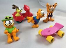 McDonalds Happy Meal Toys Garfield 1988 Mixed Lot Of 5