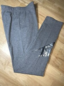 Filles Nike Gris Leggings Neuf Non Étiquette Taille XL