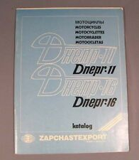 Book Catalogue Parts Heavy Motorcycle Dnepr-11 Russian Chopper